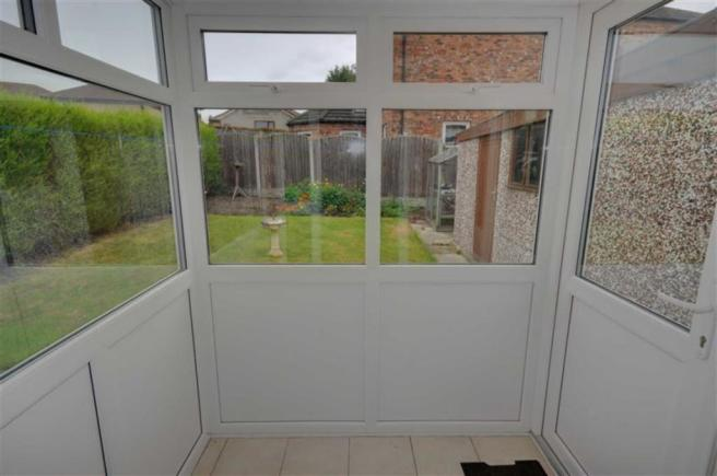 REAR ENTRANCE PORCH