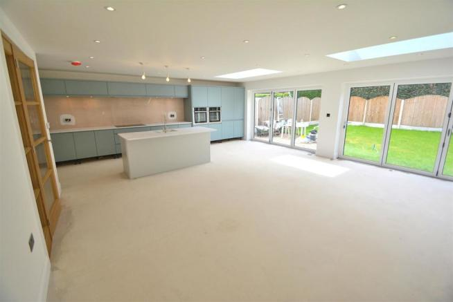 Open Plan Family Living/Dining Area