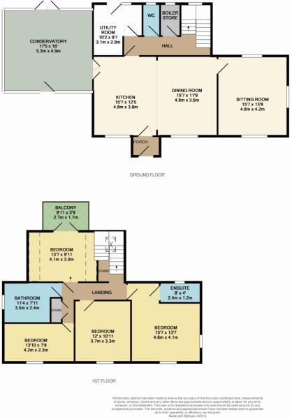 Floor plan farmhouse