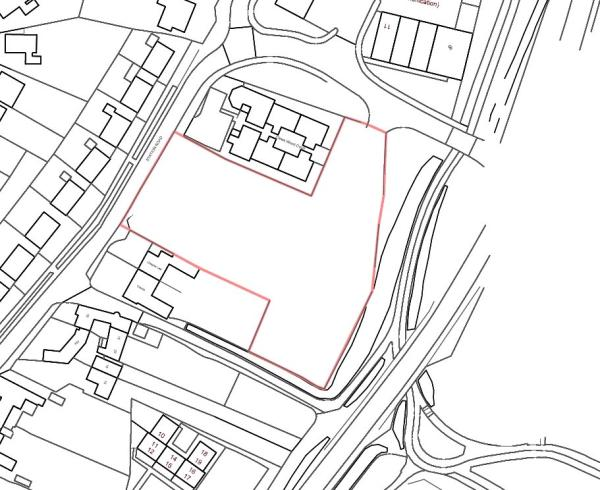 Plot For Sale In Building Plot At Alver Station Road Madeley