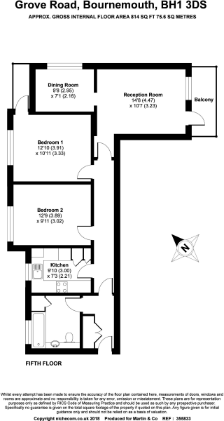 Floor Plan Elizab...