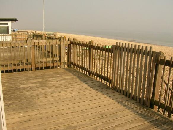 decking o/l beach