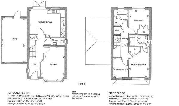 Plot 6 Floorplan