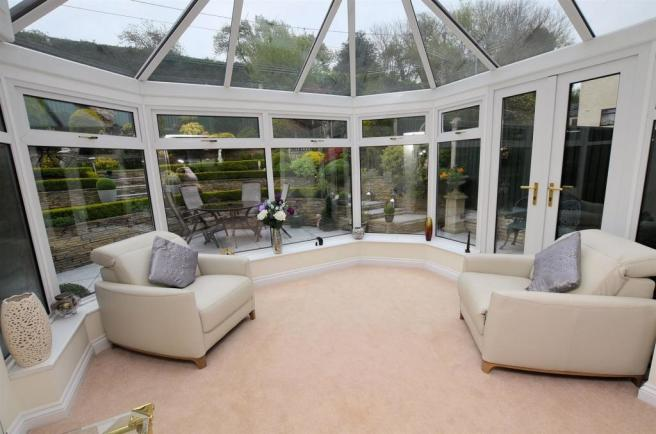 Open plan Conservatory