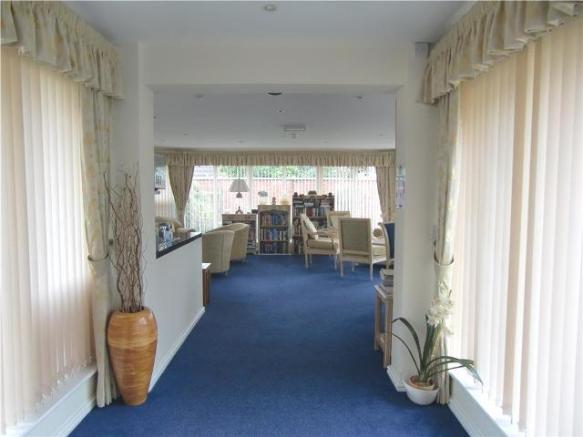 Entrance to Residents Lounge