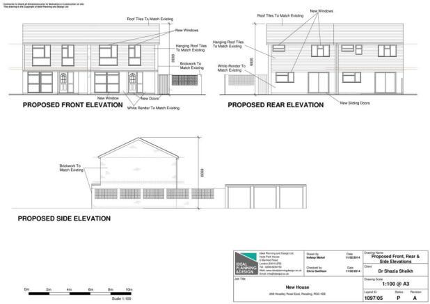 Plans elevation