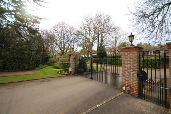 Front Gated Entrance
