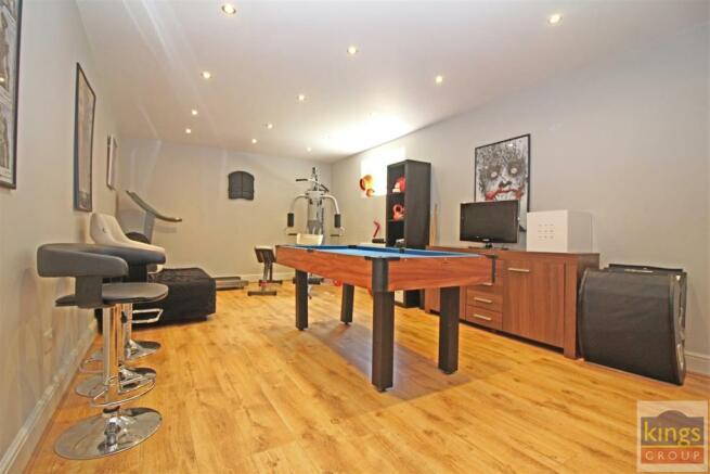 Basement/ Games Room