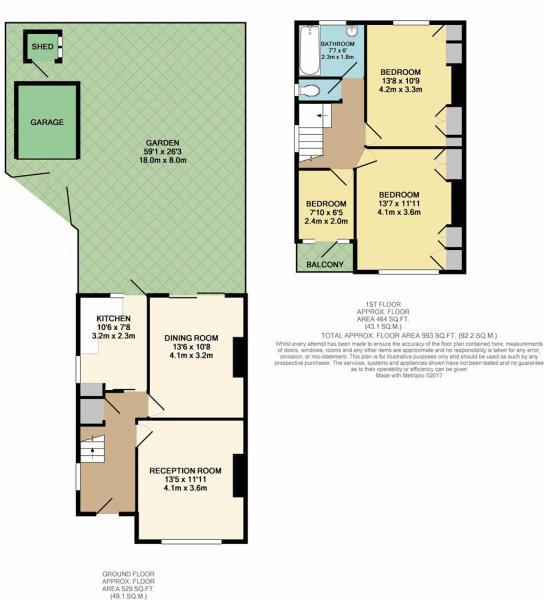 Floor Plan - Carnarvon Avenue, Enfield, EN1 3DY.JP
