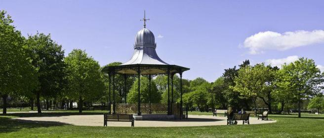 The Bandstand ...
