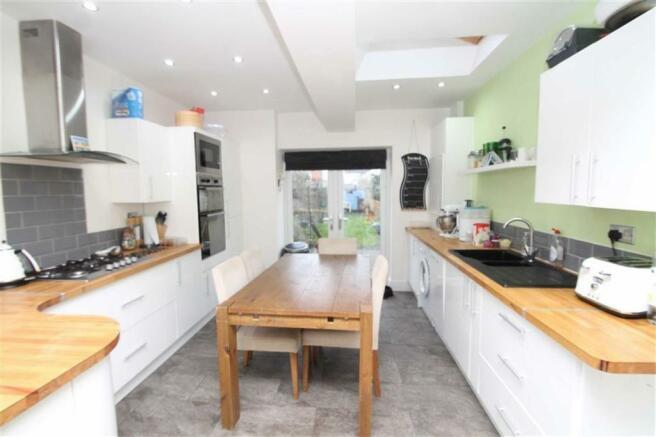 Superb Extended Living Kitchen