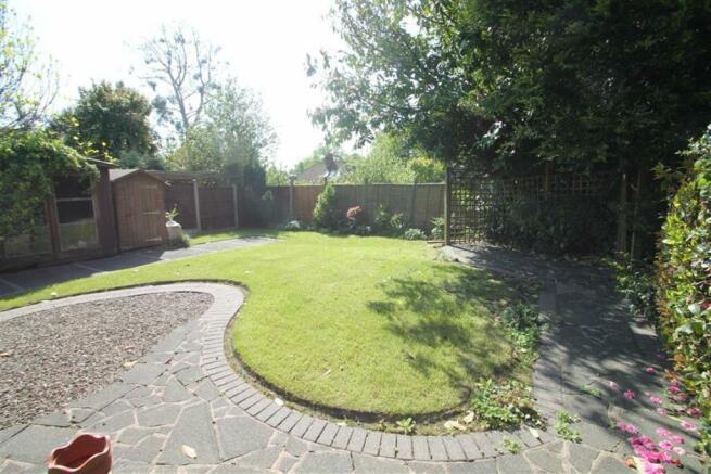 Delightful South Facing Rear Garden