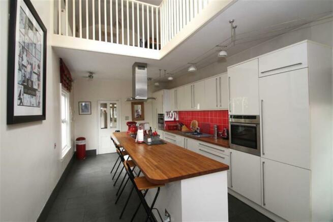 Breakfast Kitchen And Mezzanine