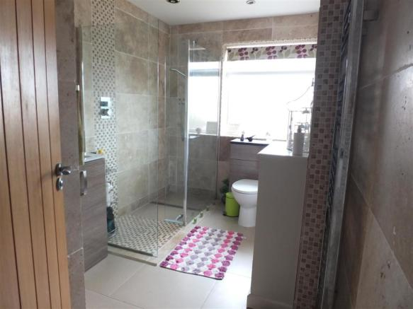 Refurbished Shower Room: