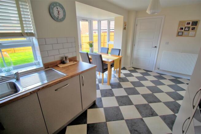 Open Plan Kitchen & Dining Room