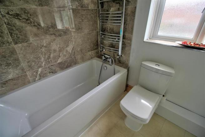 Refitted Four Piece Bathroom