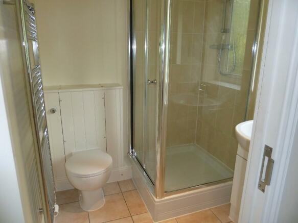 En-suite shower & WC