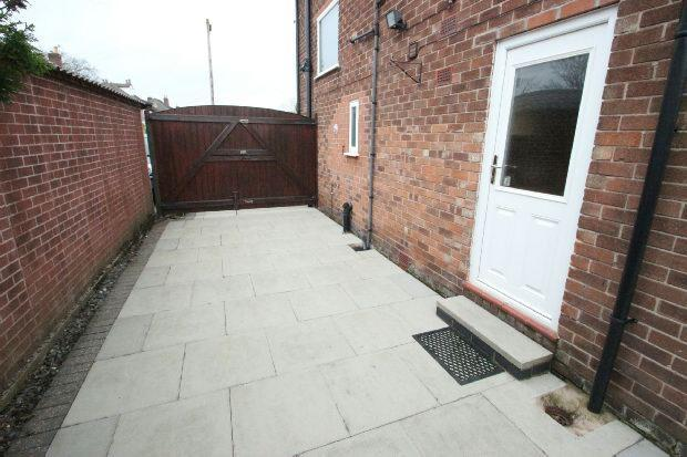 Driveway Behind The