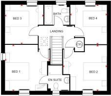 bradgate first floor