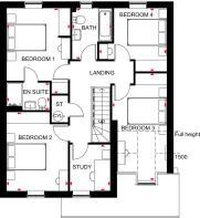 Ascot first floor plan