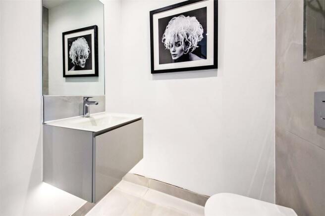 Show Home Cloakroom