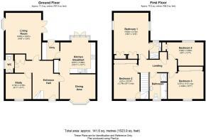 6 St Petersfield, Whitestone, Hereford, Floorplan.