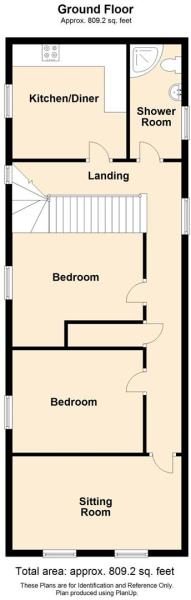 FLOOR PLAN 14B High Street, Kington.JPG