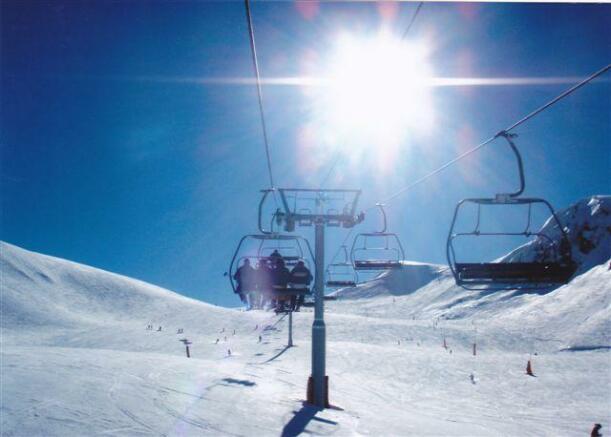 Ski shots