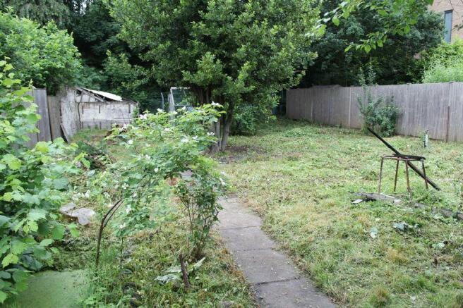 Rear garden re...
