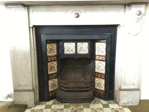Fireplace bedr...