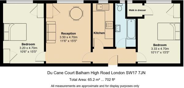 Floor Plan Colour