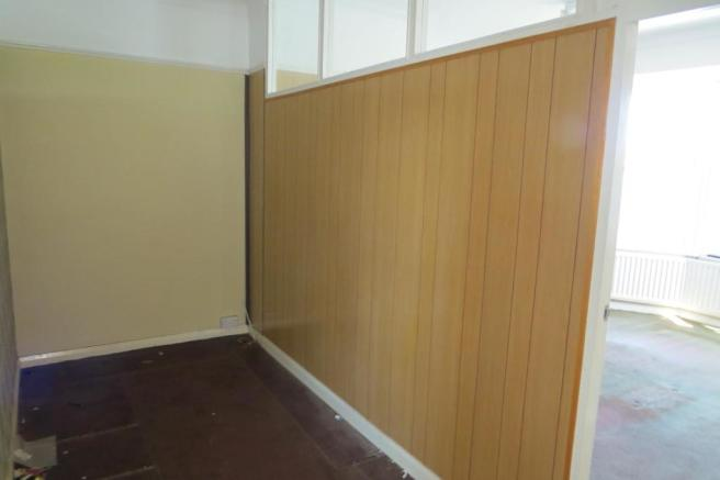 PARTITIONED ROOM OFF