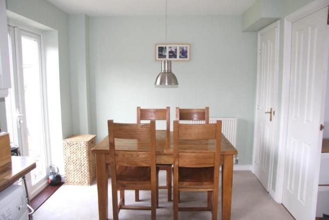 VIEW OF DINING AREA