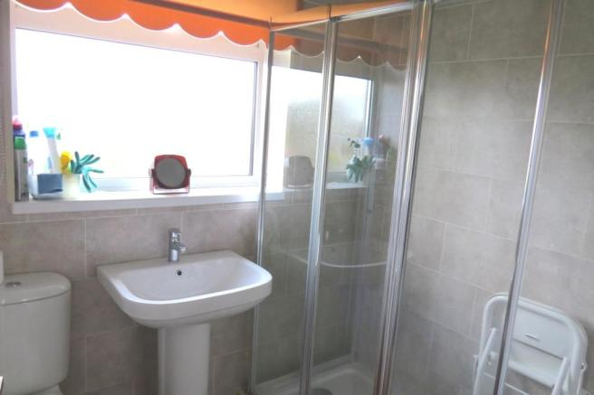 UPGRADED SHOWER ROOM
