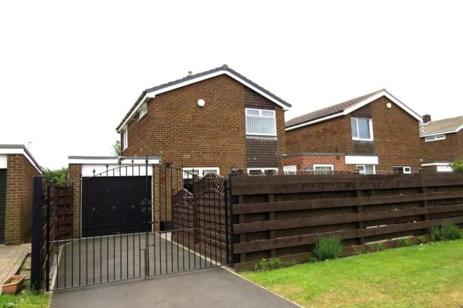 GOOD SIZED ATTACHED SIDE GARAGE WITH UTILITY- AREA