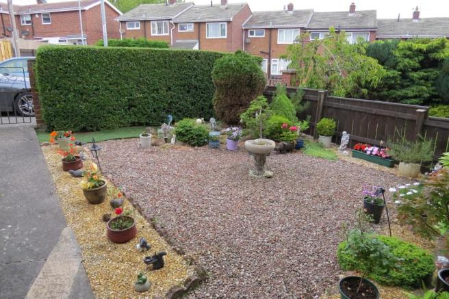 ATTRACTIVELY LANDSCAPED GARDENS