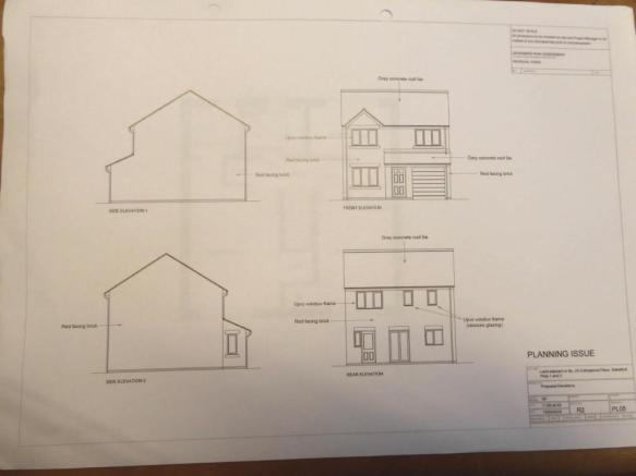FRONT AND REAR ELEVATION PLANS