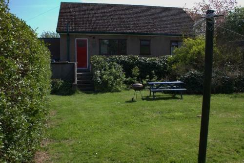 House rear secluded garden