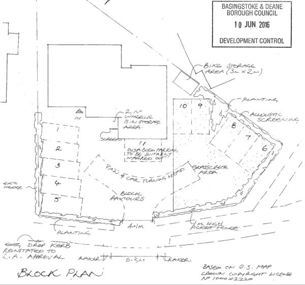 Proposed Block Plan for HMO
