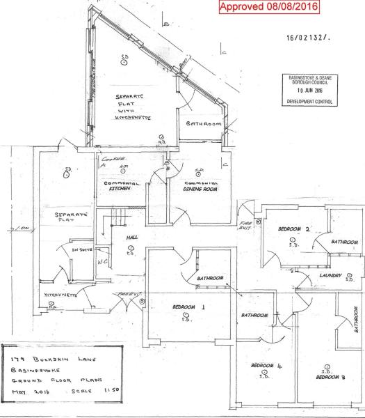 Proposed Ground Floor for HMO