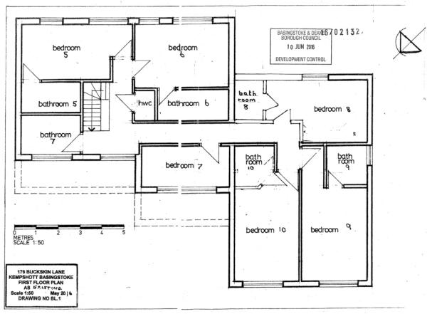 Proposed First Floor for HMO