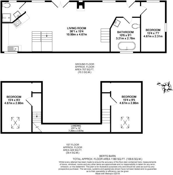 Bert's Floorplan
