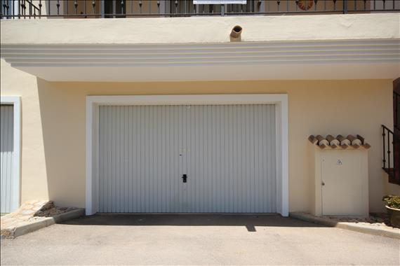 Front of Garage