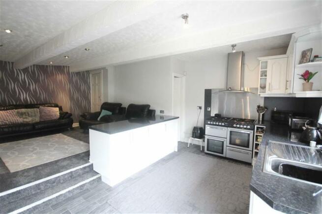 Lower Ground Floor Living Room/Kitchen