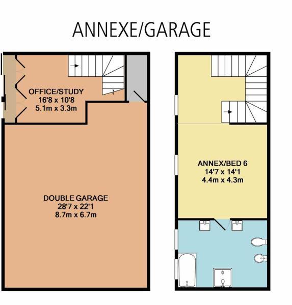 Annex and Garage Level