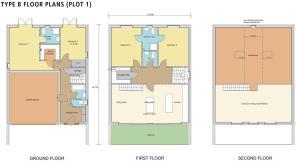 Type B Floor Plans
