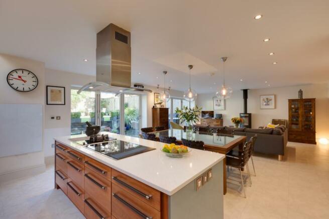 Open Plan Living Kitchen