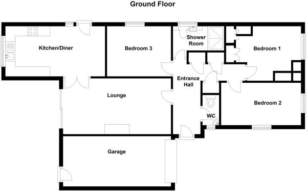 Woodcote, Ashby De La Zouch floor plan.JPG