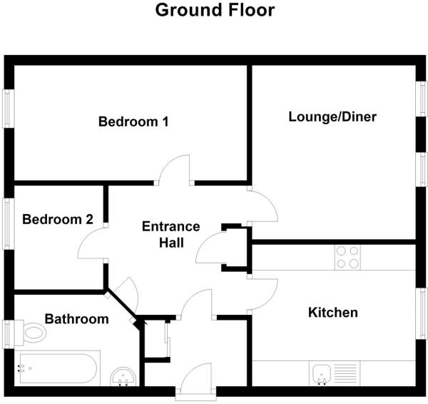 Oak Crescent, Ashby De La Zouch floor plan.JPG