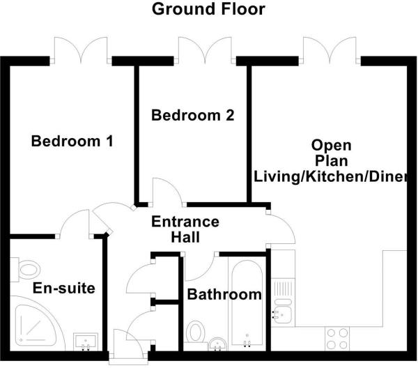 Royal Mews, Ashby De La Zouch floor plan.JPG